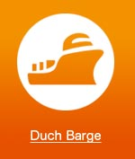 Marine heating dutch barge