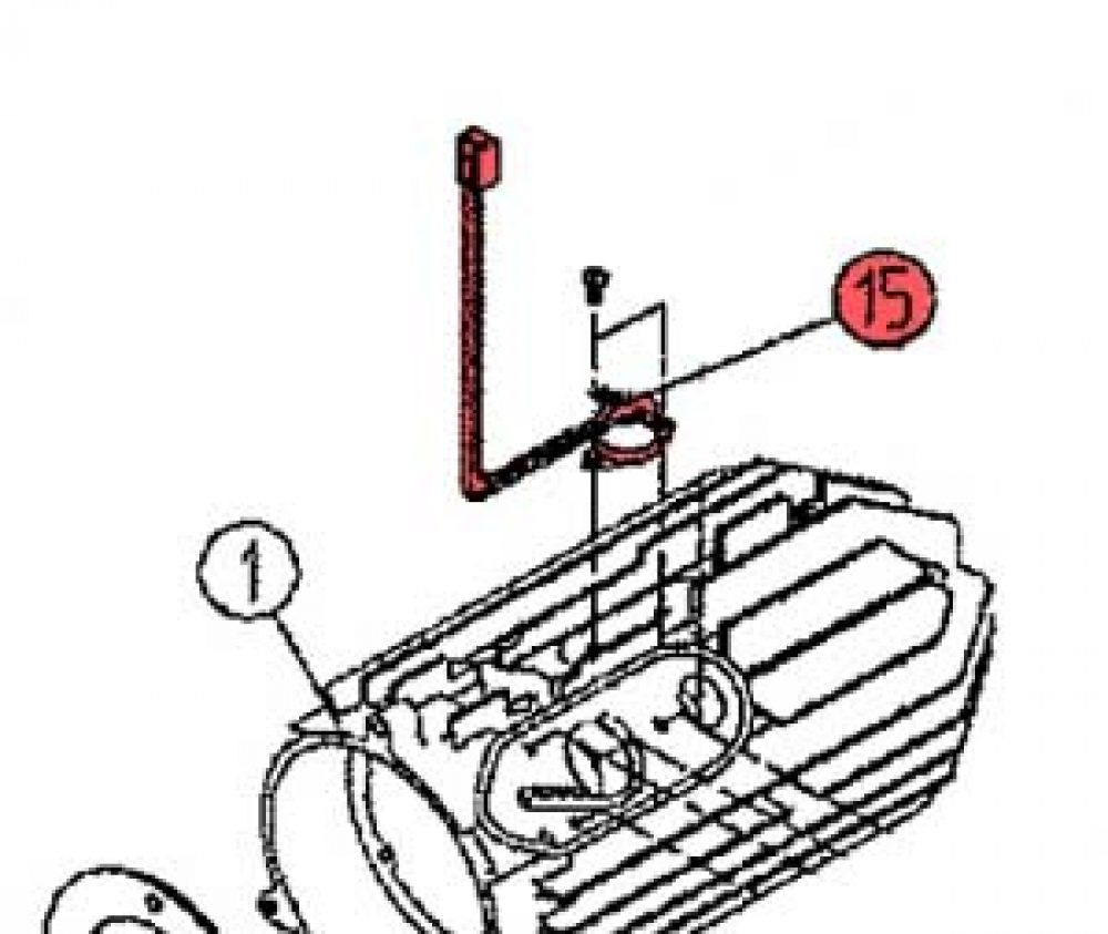 15) Overheat Thermostat Assembly-0