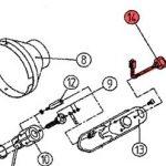 14) Flame Sensor Assembly -0