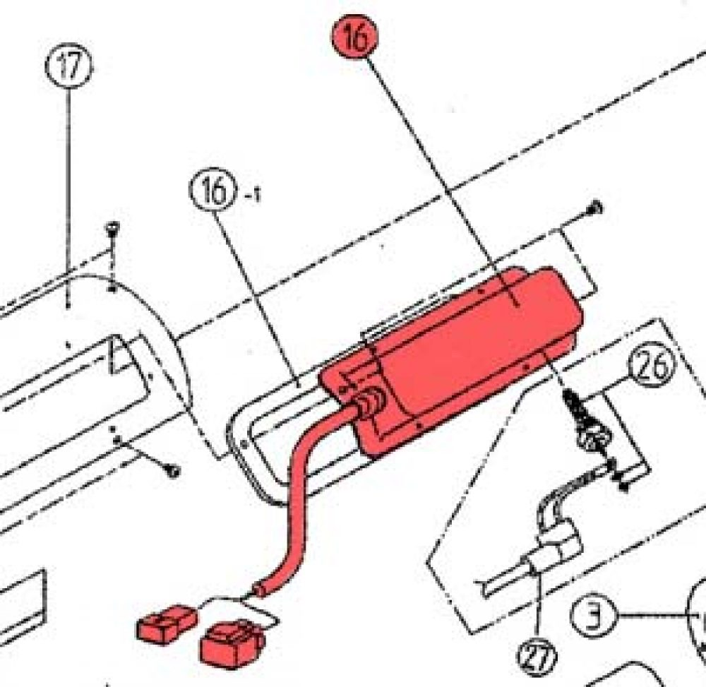 16) Plug Cover Assembly -0