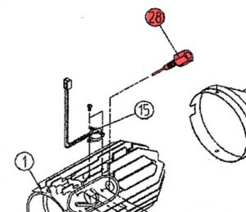 28) Flame Viewing Bolt-0