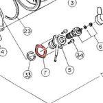 7) Packing (Glow Plug Boss Gasket) -0