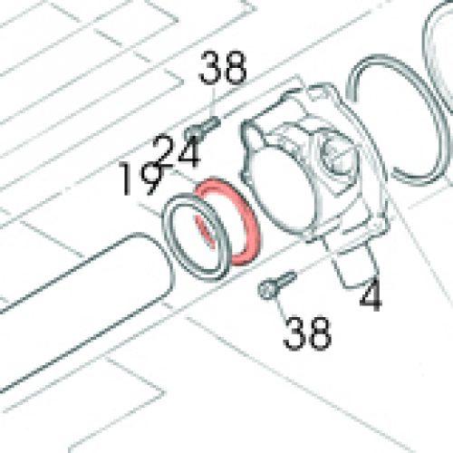 24) Packing (Fibre Gasket) -0
