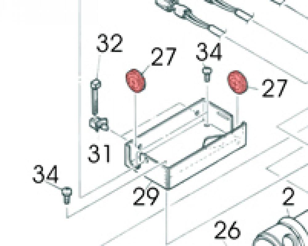 27) Grommet -0