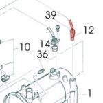 12) Thermistor Assembly -0