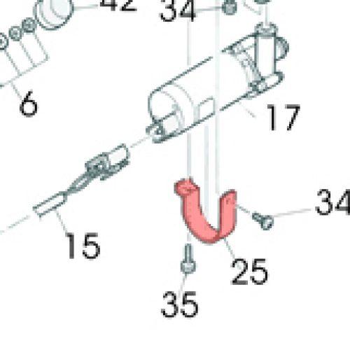25) Band (Water Pump Gasket) -0