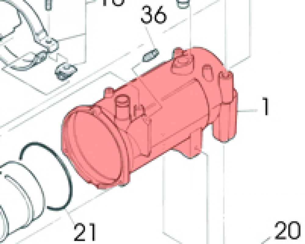 1) Water Jacket-0