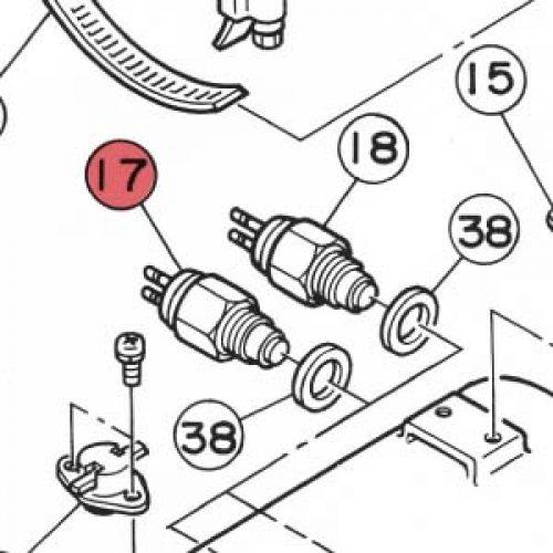 17) Thermostat 82ºC-0