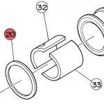 20) Seat (Fibre Gasket)-0