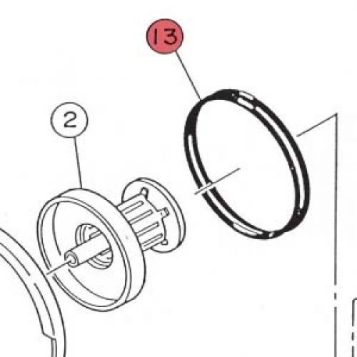 13) O-Ring-0