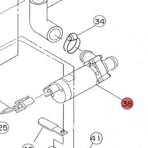 38) Water Pump -0