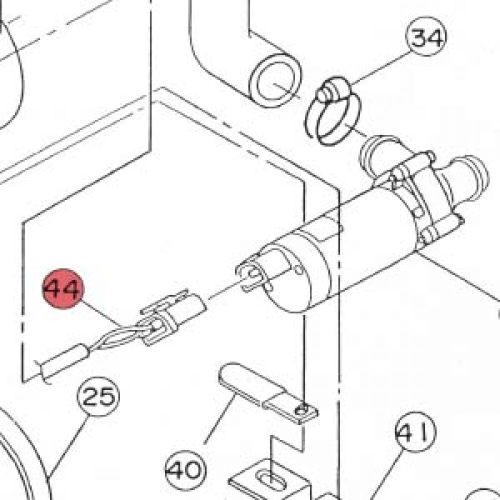 44) Cable Assembly -0