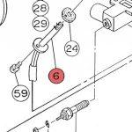 6) Flame Sensor Assembly -0