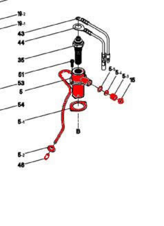 5) Glow Plug Boss Assembly-0