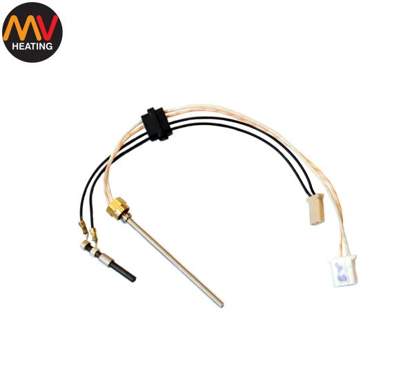 14) Glow Pin and Flame Sensor Assembly-0