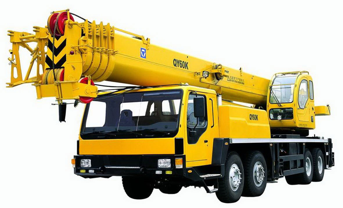 crane with heater