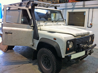 land rover discovery with mv heating diesel heater airo 2 v